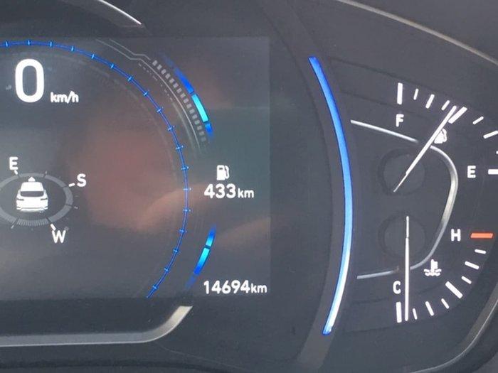 2018 Hyundai Santa Fe Highlander TM MY19 4X4 On Demand Silver