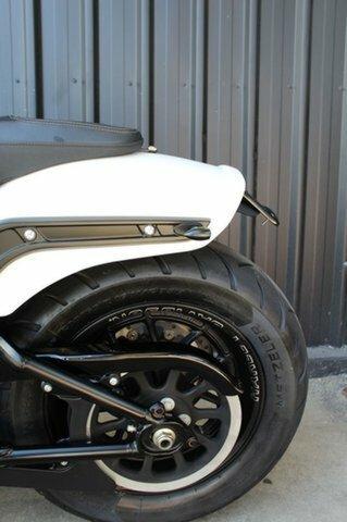 2018 Harley-davidson FXFBS FAT BOB Bolivian Salt Denim