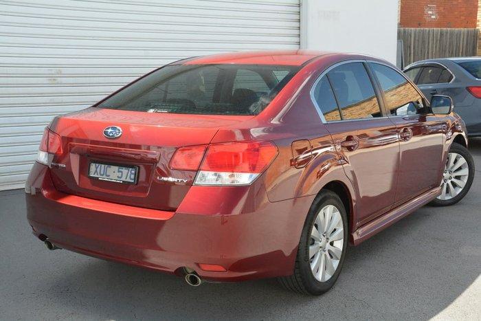2010 Subaru Liberty 3.6R Premium 5GEN MY10 Red