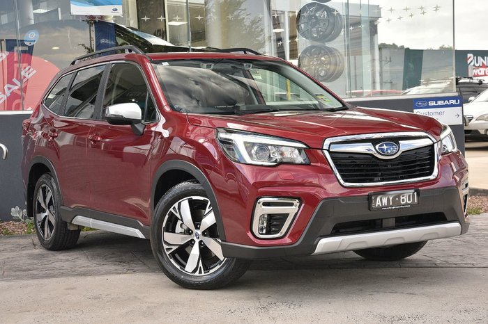 2018 Subaru Forester 2.5i-S S5 MY19 Red