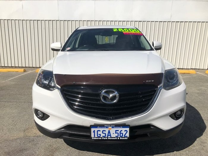 2014 Mazda CX-9 Luxury TB Series 5 White