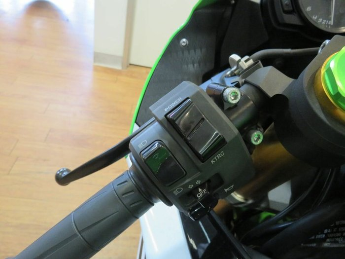 2014 Kawasaki ZX-6R NINJA Green