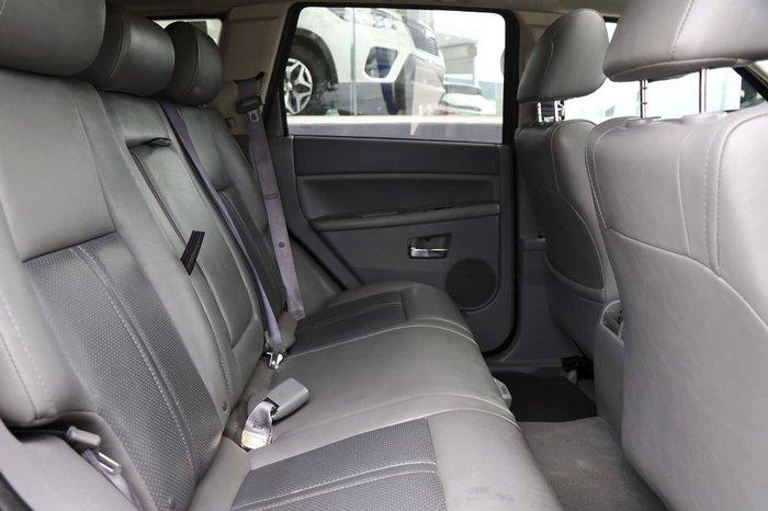 2005 Jeep Grand Cherokee Limited WH MY06 4X4 Dual Range Black