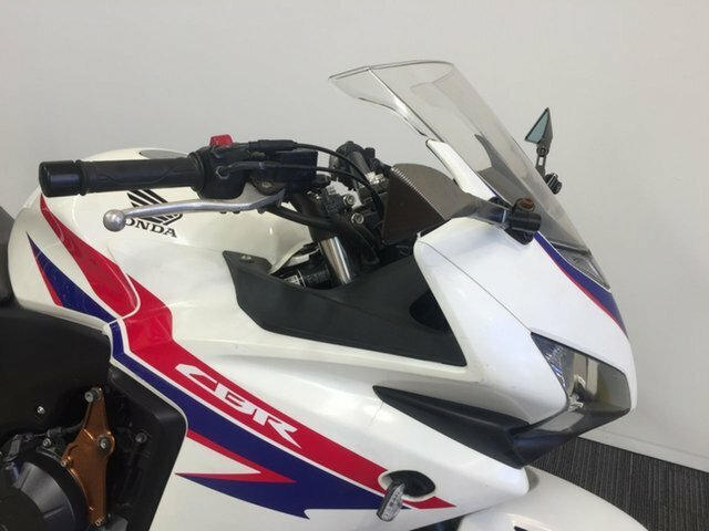 2013 Honda CBR500R (ABS) WHITE