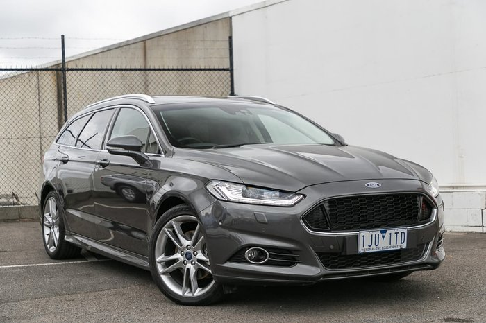 2017 Ford Mondeo Titanium MD MY17.5 Grey