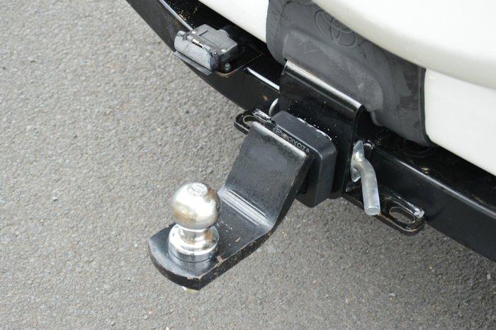 2011 Toyota Landcruiser Prado GX KDJ150R MY12 4X4 Constant WHITE