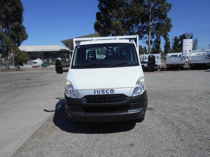 2014 Iveco Daily 45C17 STEEL DROP SIDE TRAY WHITE