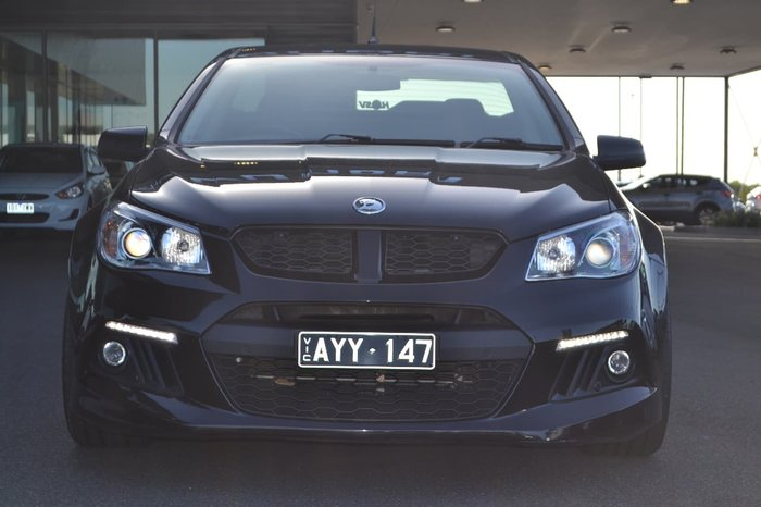 2013 Holden Special Vehicles Maloo GEN-F MY14 Black