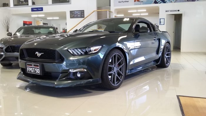 2015 Ford Mustang GT FM Green