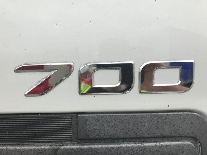 2006 Hino FS -700 Series FS 700 SERIES 2845 WHITE
