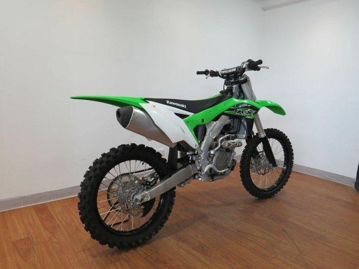2017 Kawasaki KX250F Green