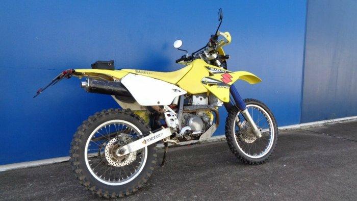 2000 Suzuki DR-Z400 YELLOW