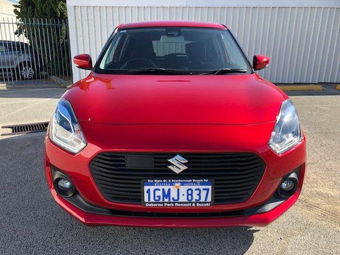 2018 Suzuki Swift GLX Turbo AZ Red