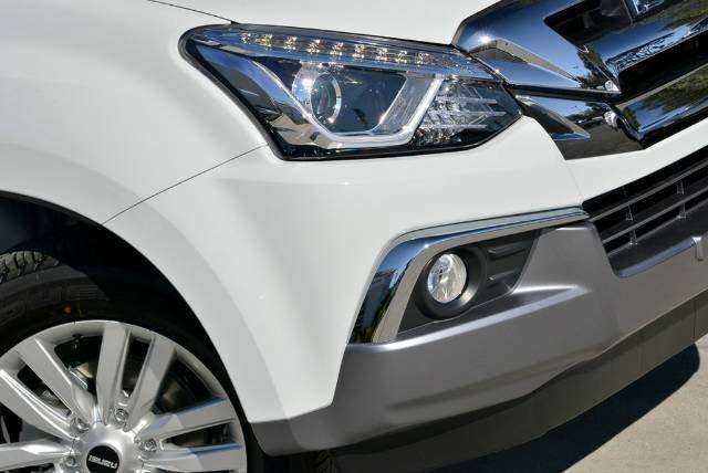 2018 Isuzu MU-X LS-U MY18 4X4 Dual Range SPLASH WHITE