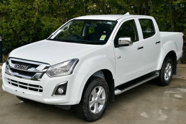 2018 Isuzu D-MAX LS-U High Ride MY18 SPLASH WHITE
