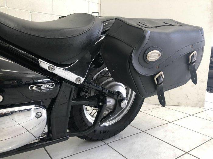 2009 SUZUKI VL800 (BOULEVARD C50) Black