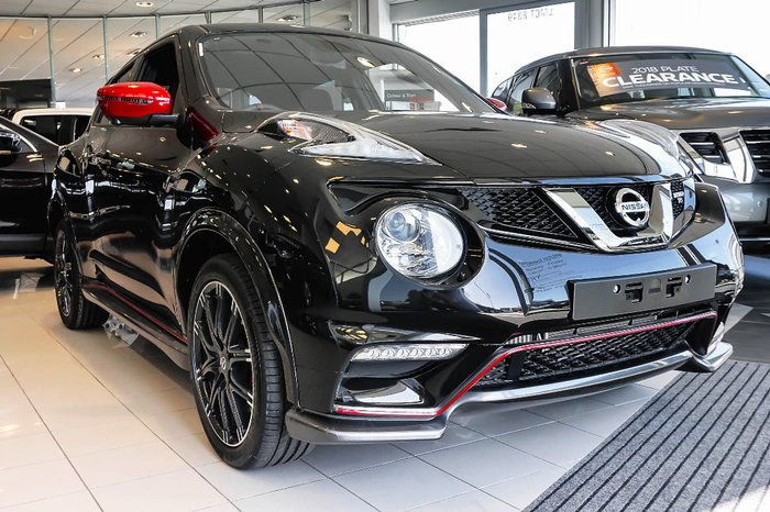 2018 Nissan JUKE NISMO RS F15 MY18 Black