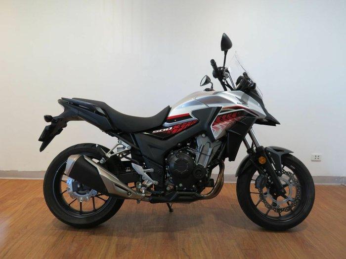 2018 Honda CB500XA (ABS) Silver