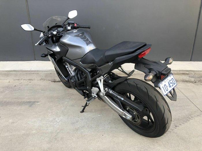 2014 Honda CBR650FA SILVER