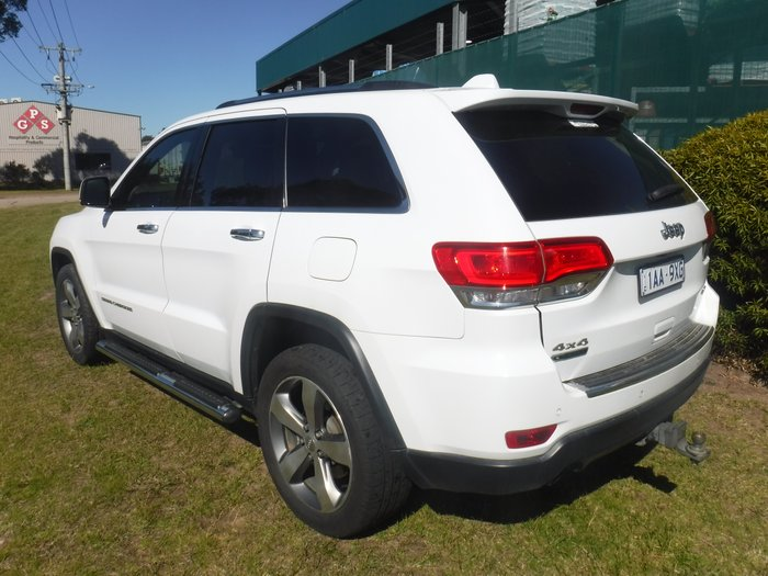 2013 Jeep Grand Cherokee Limited WK MY14 4X4 Constant WHITE