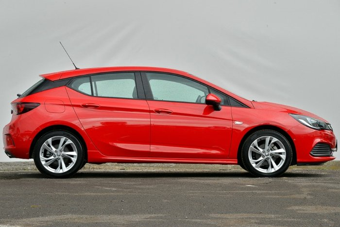 2017 Holden Astra RS BK MY18 ABSOLUTE RED