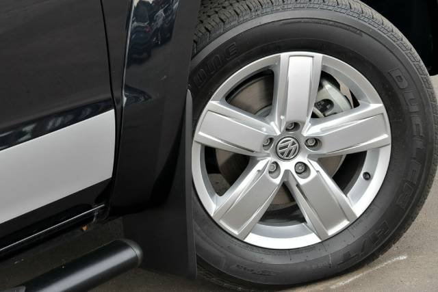 2017 Volkswagen Amarok TDI550 Sportline 2H MY17.5 4X4 Constant DEEP PEARL BLACK