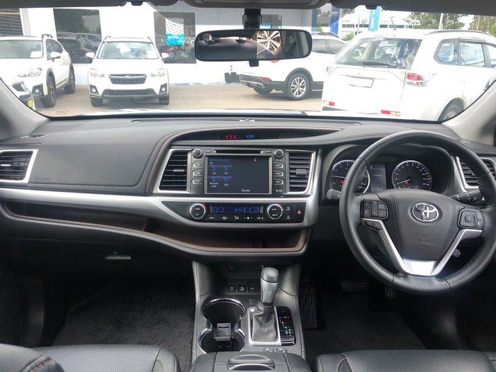 2016 Toyota Kluger GXL GSU55R Black
