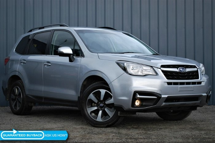 2016 Subaru Forester 2.5i-L S4 MY16 ICE SILVER METALLIC