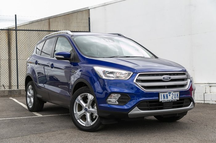 2018 Ford Escape Trend ZG MY18 Blue