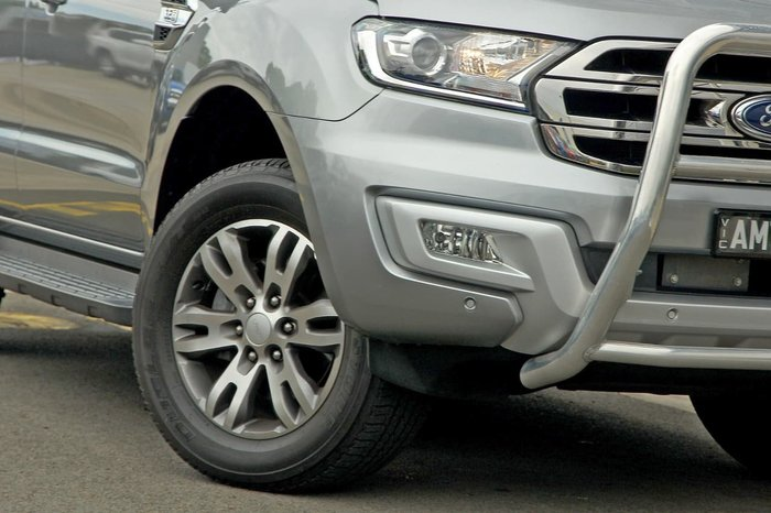 2016 Ford Everest Trend UA Silver