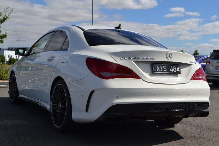 2015 Mercedes-Benz CLA45 AMG C117 White