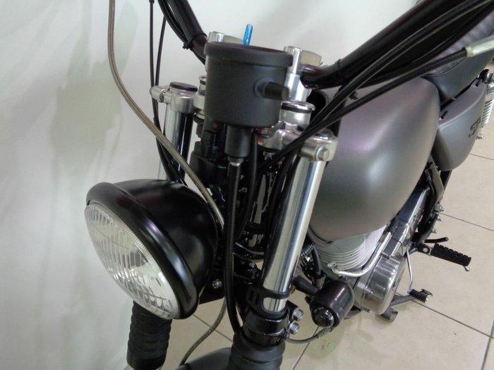 2014 YAMAHA SR400 Silver