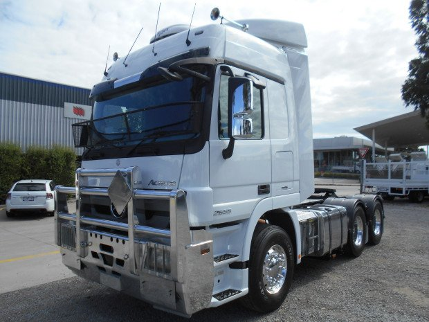 2014 Mercedes Benz 2655 Actros WHITE
