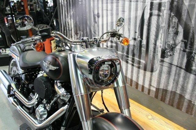 2019 Harley-davidson FLFBS FAT BOY S (114) (CUST) GREY