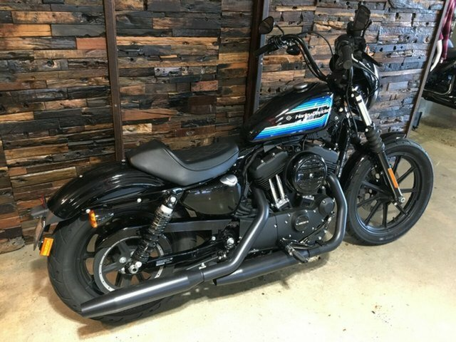 2018 Harley-Davidson IRON 1200 (xl1200ns) Vivid Black