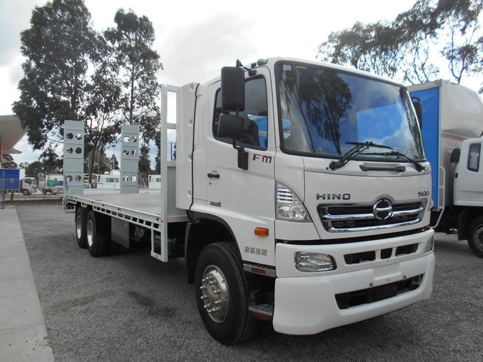 2012 Hino FM 2632-500 Series NEW BEAVERTAIL WHITE