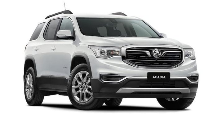 2018 Holden Acadia LT AC MY19 4X4 On Demand White