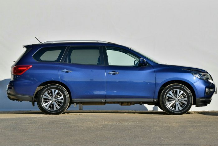 2017 Nissan Pathfinder ST-L R52 Series II MY17 4X4 On Demand CASPIAN BLUE