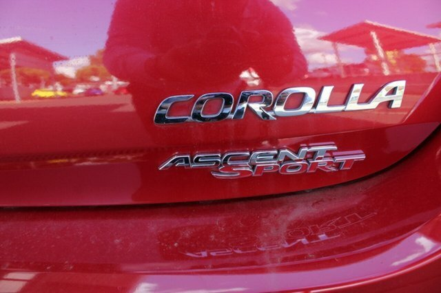 2014 Toyota Corolla Ascent Sport ZRE182R RED