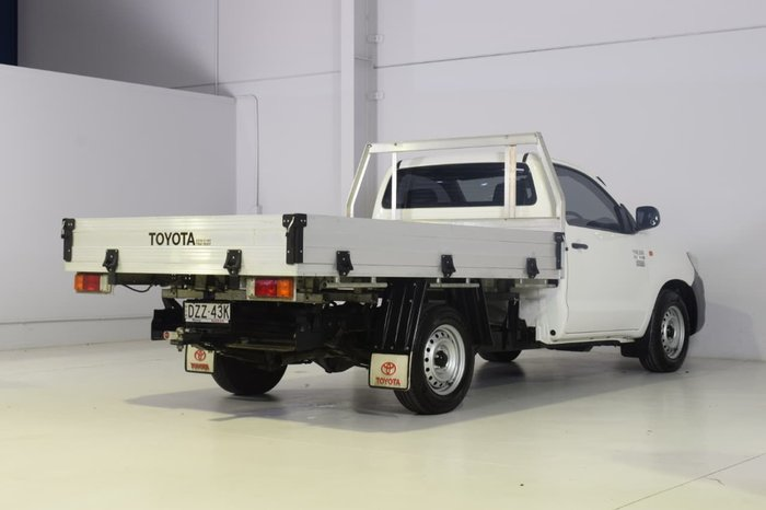 2015 Toyota Hilux Workmate KUN16R MY14 White