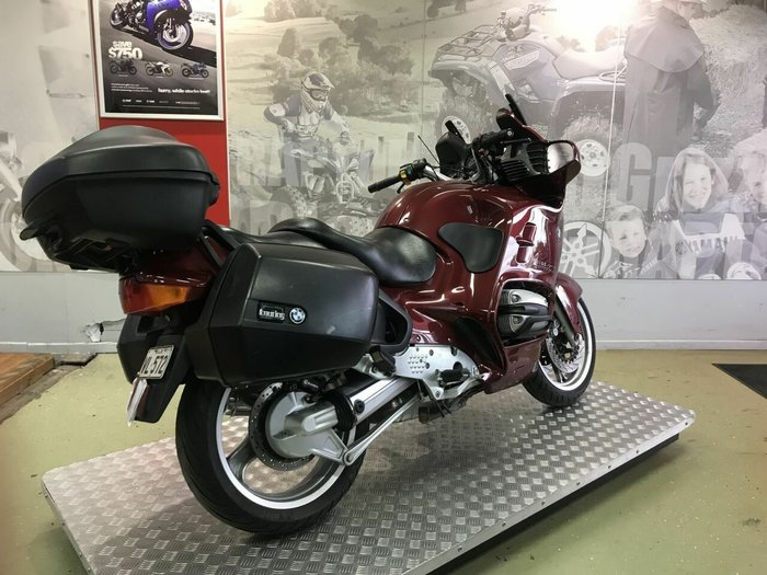 2000 BMW R1100RT (ABS) Red
