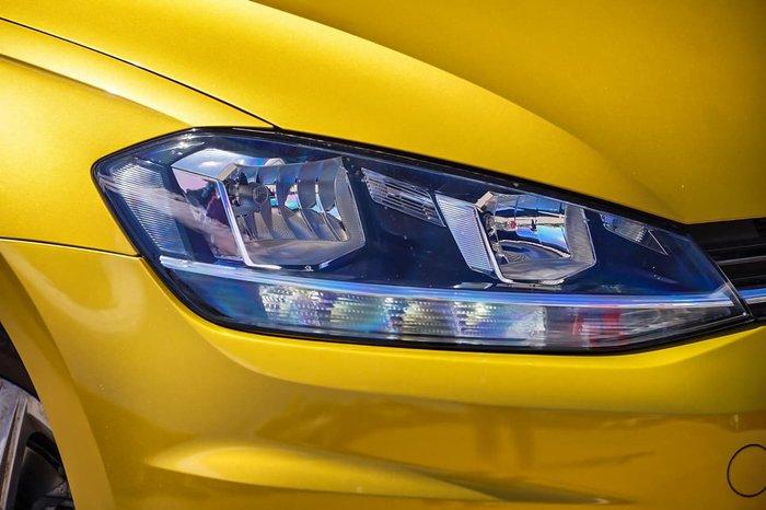 2017 Volkswagen Golf 110TSI 7.5 MY18 Yellow