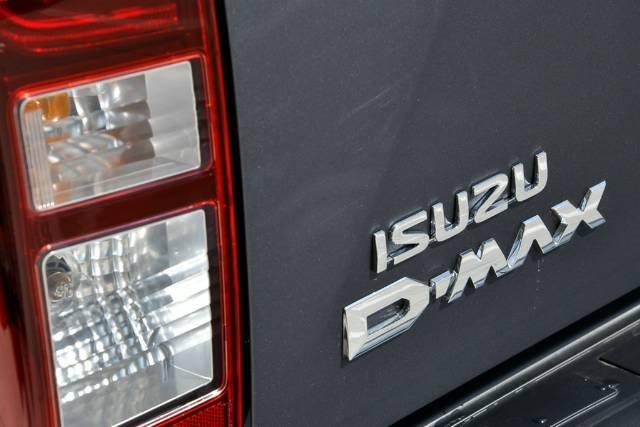 2018 Isuzu D-MAX LS-U MY18 4X4 Dual Range OBSIDIAN GREY