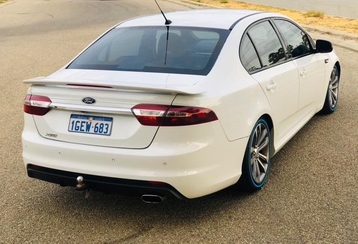 2016 FORD FALCON XR6 FG X WINTER WHITE