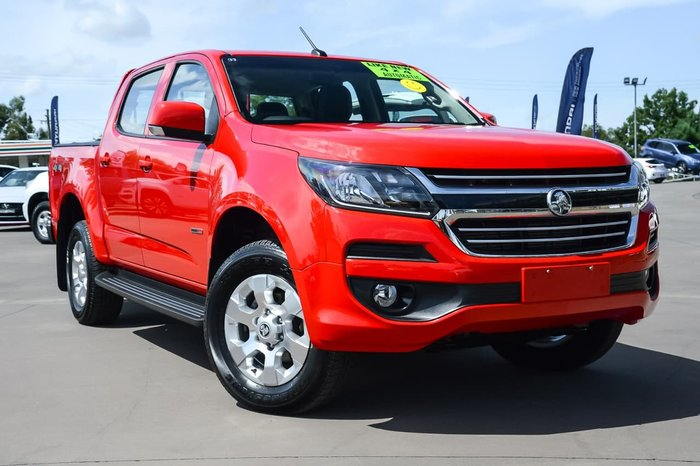 2018 Holden Colorado LT RG MY18 4X4 Dual Range Red