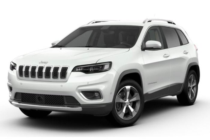 2018 JEEP CHEROKEE LIMITED KL MY17 BRIGHT WHITE