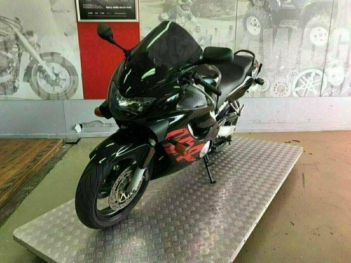 2000 Honda CBR600F Black