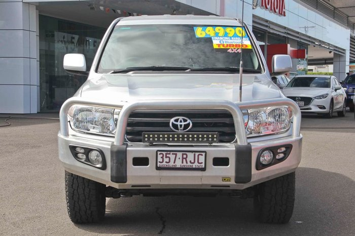 2011 Toyota Landcruiser GXL VDJ200R MY10 4X4 Constant Silver