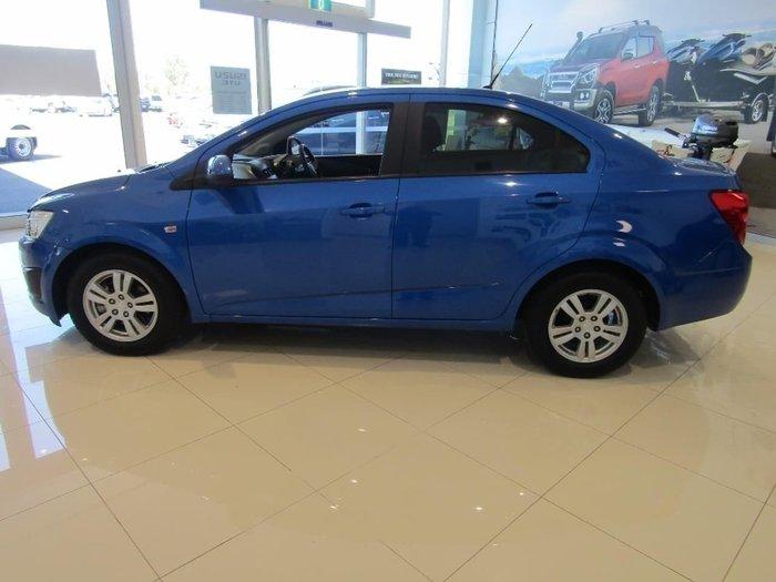 2011 Holden Barina TK MY11 Blue