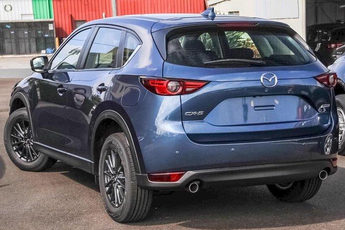 2018 Mazda CX-5 Maxx Sport KF Series Blue